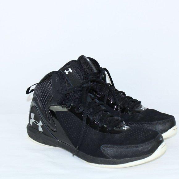 Under Armour black Jet 2 Basketball high top sneak